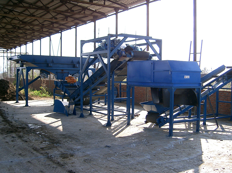 First lines VMS-1 and -2 for processing industrial waste and smelters slags were produced