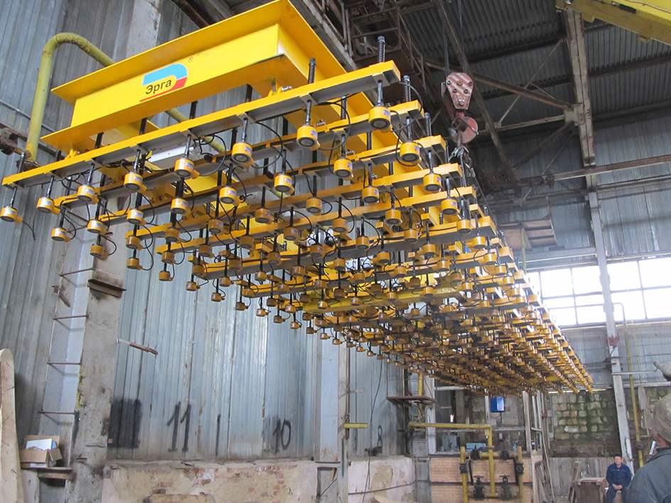 Production of ARMAG magnetic lifting beams was launched