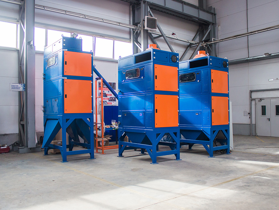 Electrostatic separator ELKRON ESS was put into serial production