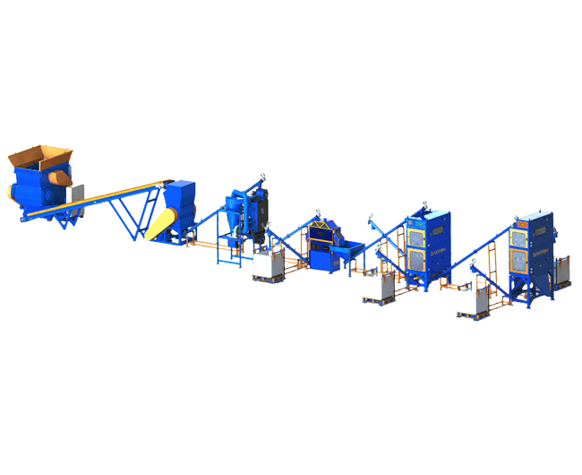 RESOLINE cable recycling line