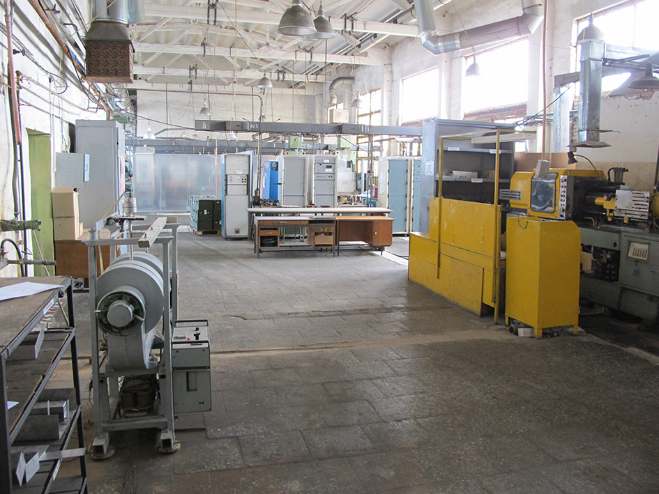 One of the rented buildings was purchased from the glass factory to meet the needs