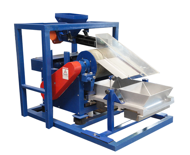 ERGA SMB-DM laboratory eddy current magnetic separator