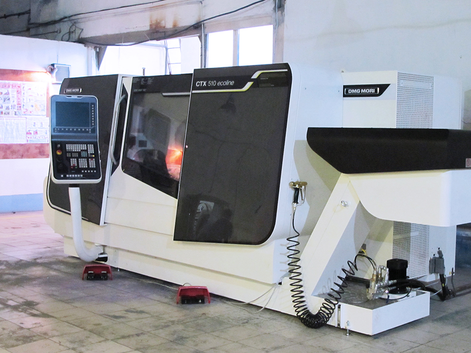 CNC machines by DMG (Germany) were purchased and put into operation