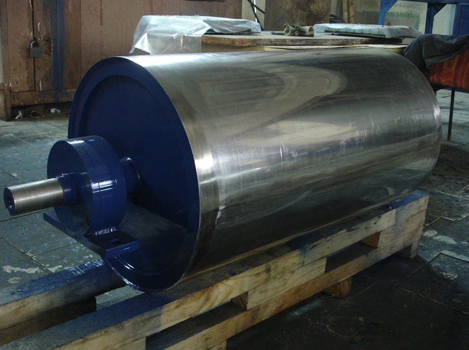 Magnetic drum separator type ERGA SMB was produced for the glass factory