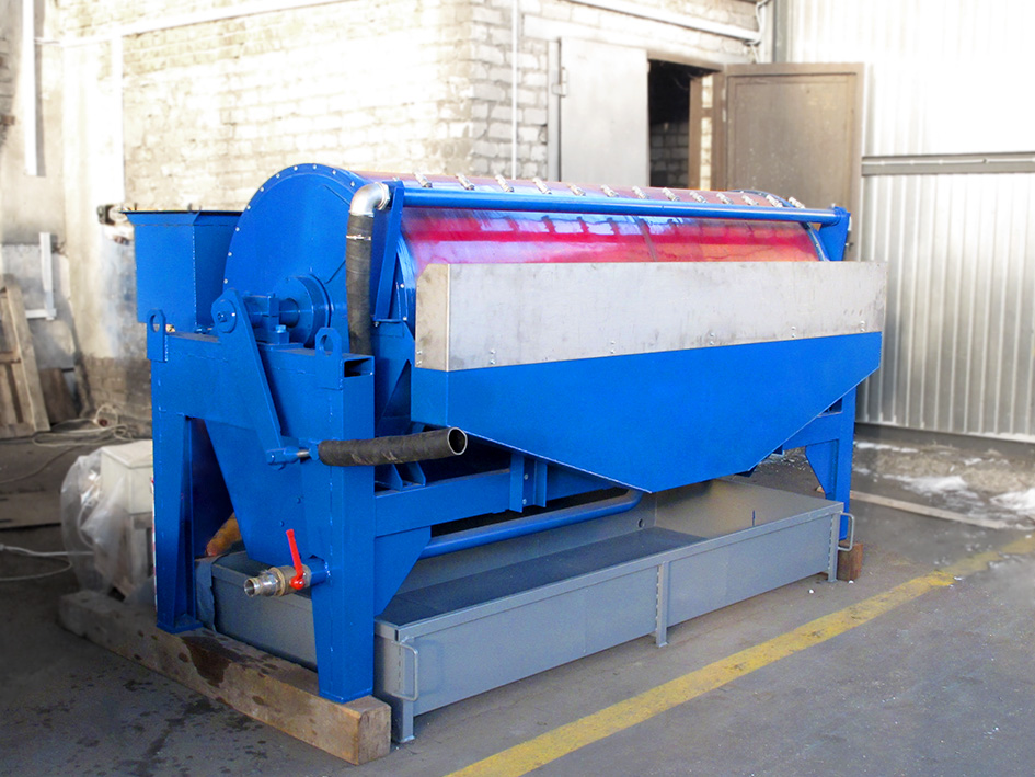Wet drum separator ERGA MBS (D 3500 mm) was produced