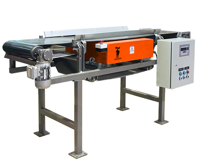 ERGUARD SCM conveyor metal detector  with permanent magnets